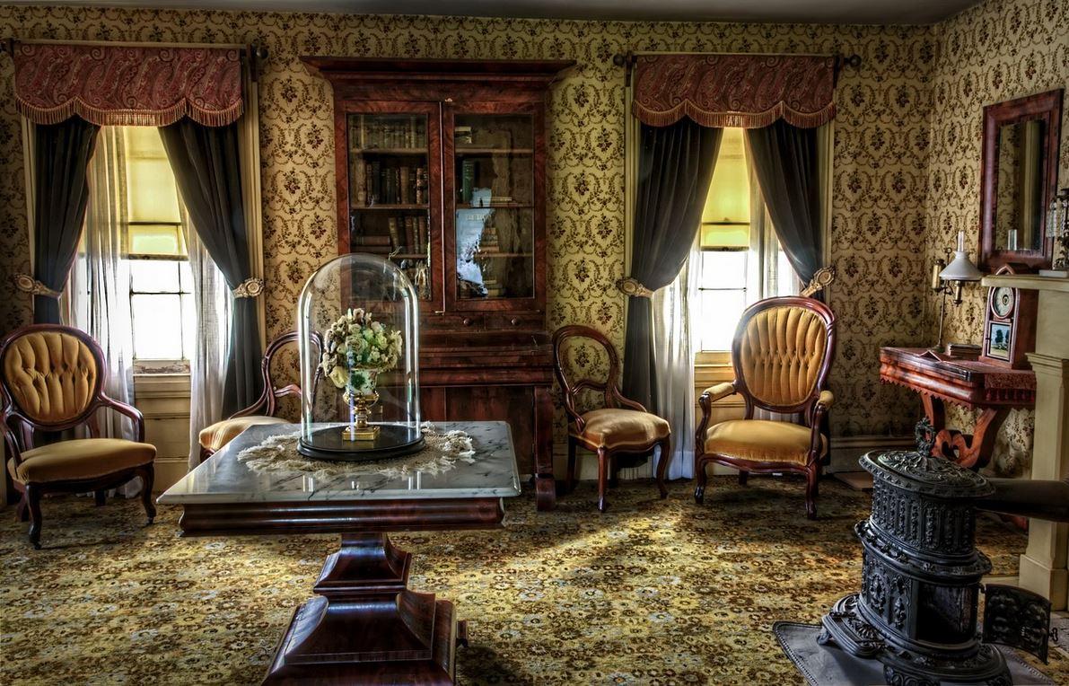 interior design style vintage room