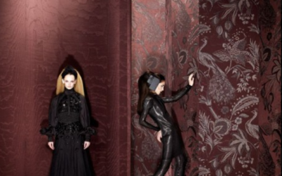 Bedroom Accessories: Masquerade Wallpaper by Arte