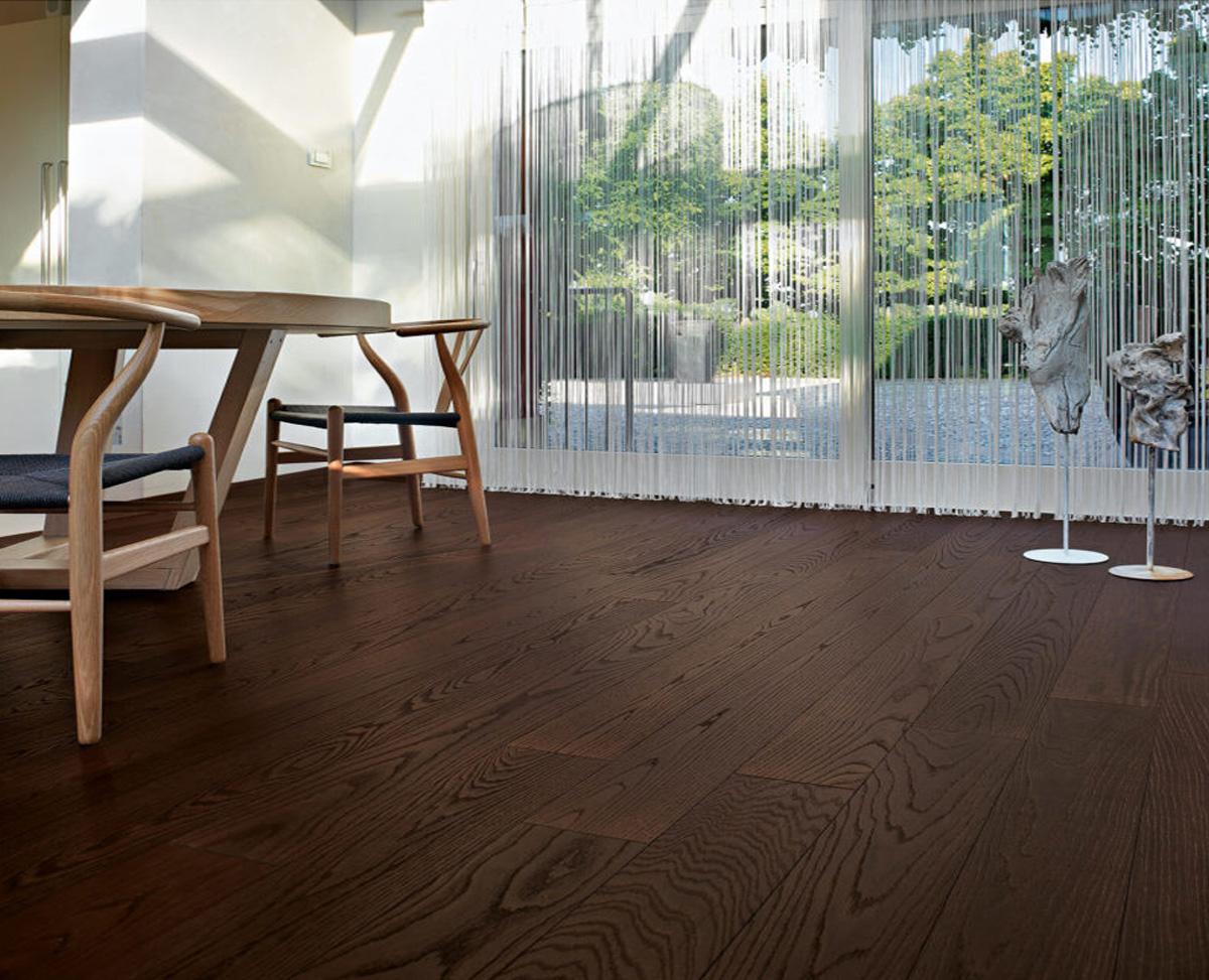 Vintage wooden flooring