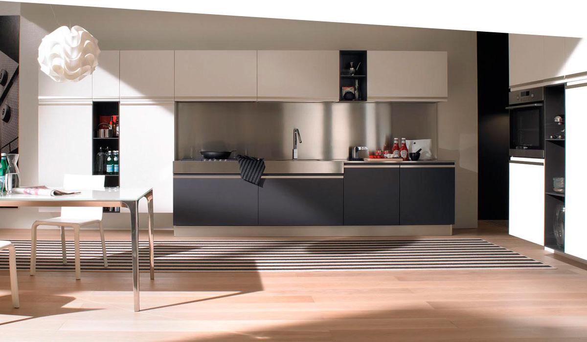 Handle less - Modern kitchen design