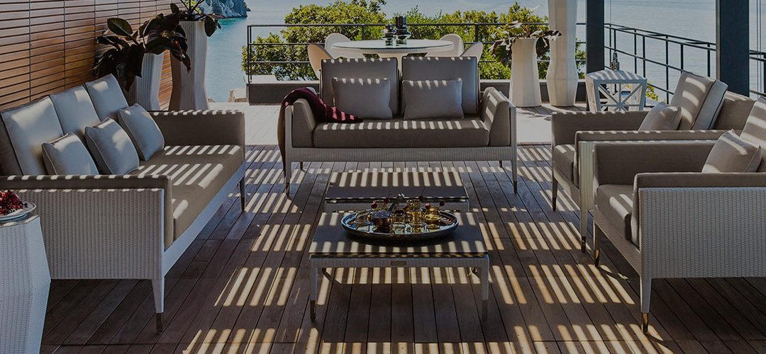How Modern Garden Furniture can Improve the Look of Your Backyard