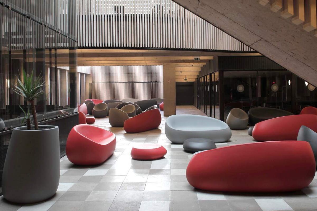 Stone sofa by vondom