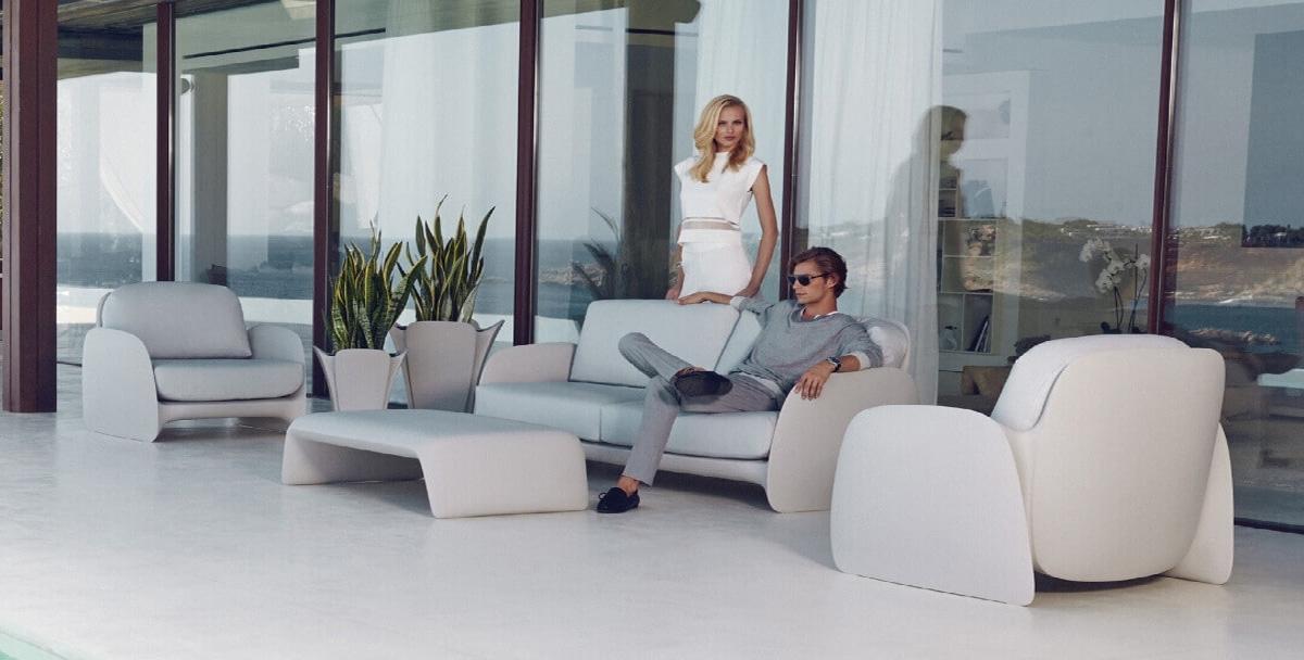 modern eclectic trends in garden furniture