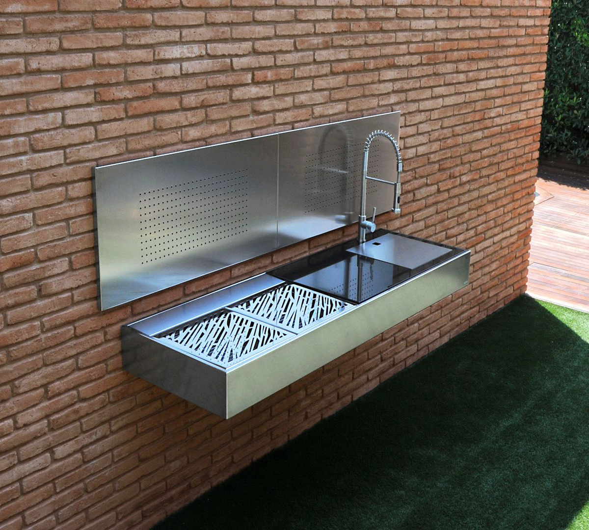 luxury barbecue in your garden area