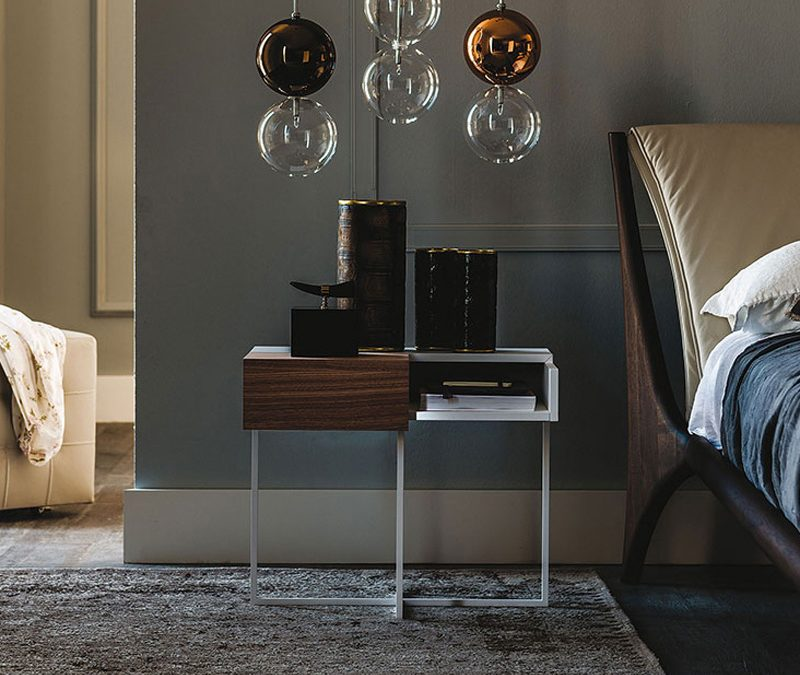 6 Cattelan Italia Bedside Tables for a Luxury Bedroom Finish