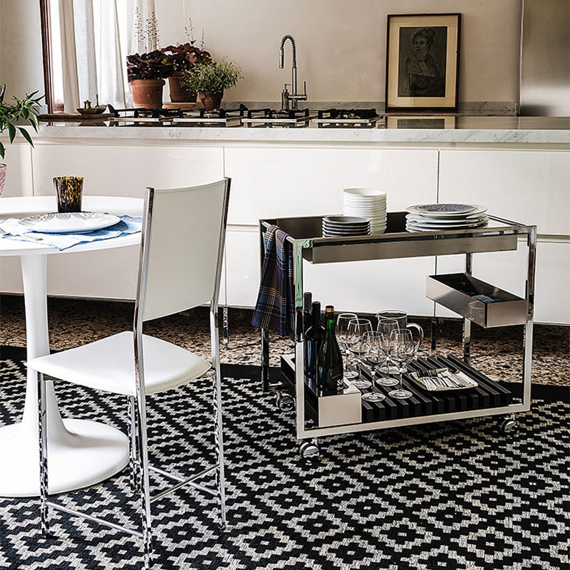 Create the Ultimate At-Home Bar with the Cattelan Italia Bar Trolleys
