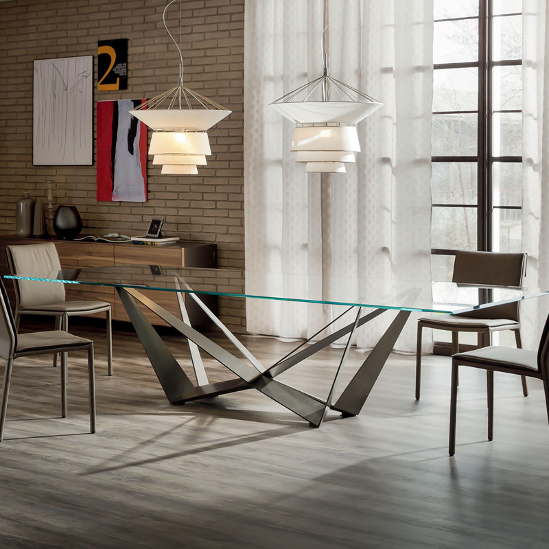 Skorpio Wood Fixed Table by Cattelan Italia