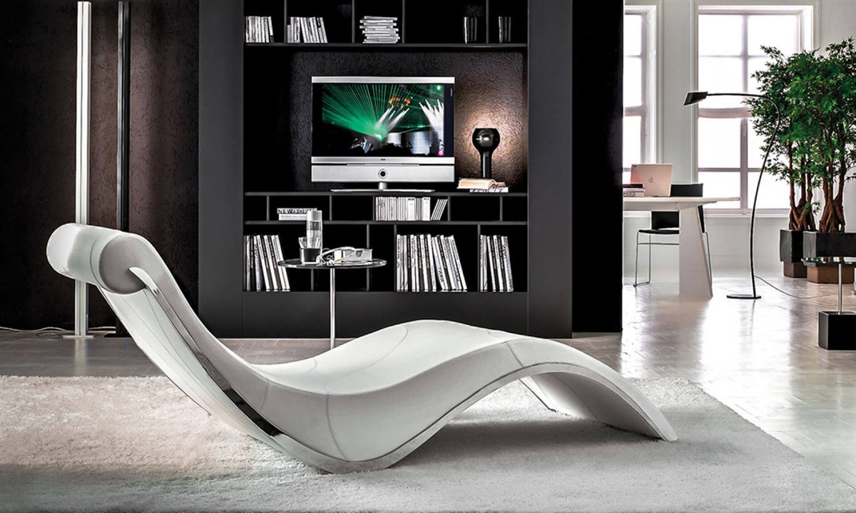 sylvester chaise lounge by cattelan italia