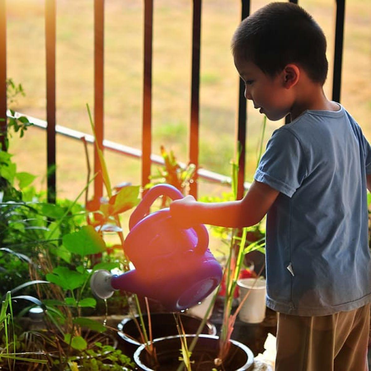 garden activities for children