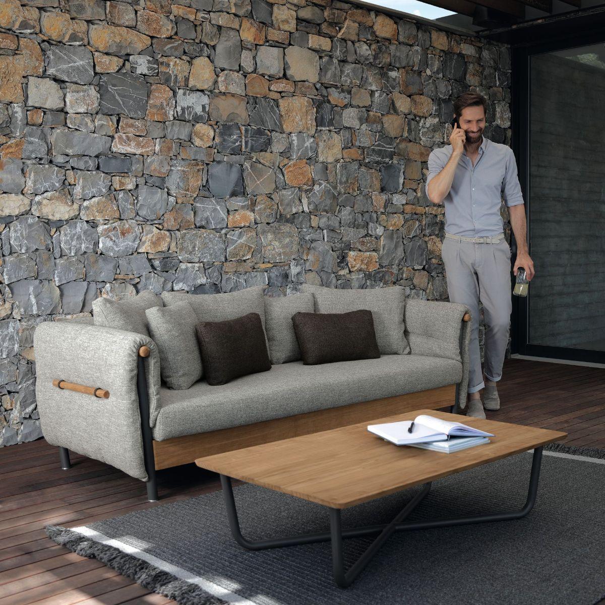 Domino Outdoor Sofa by Talenti