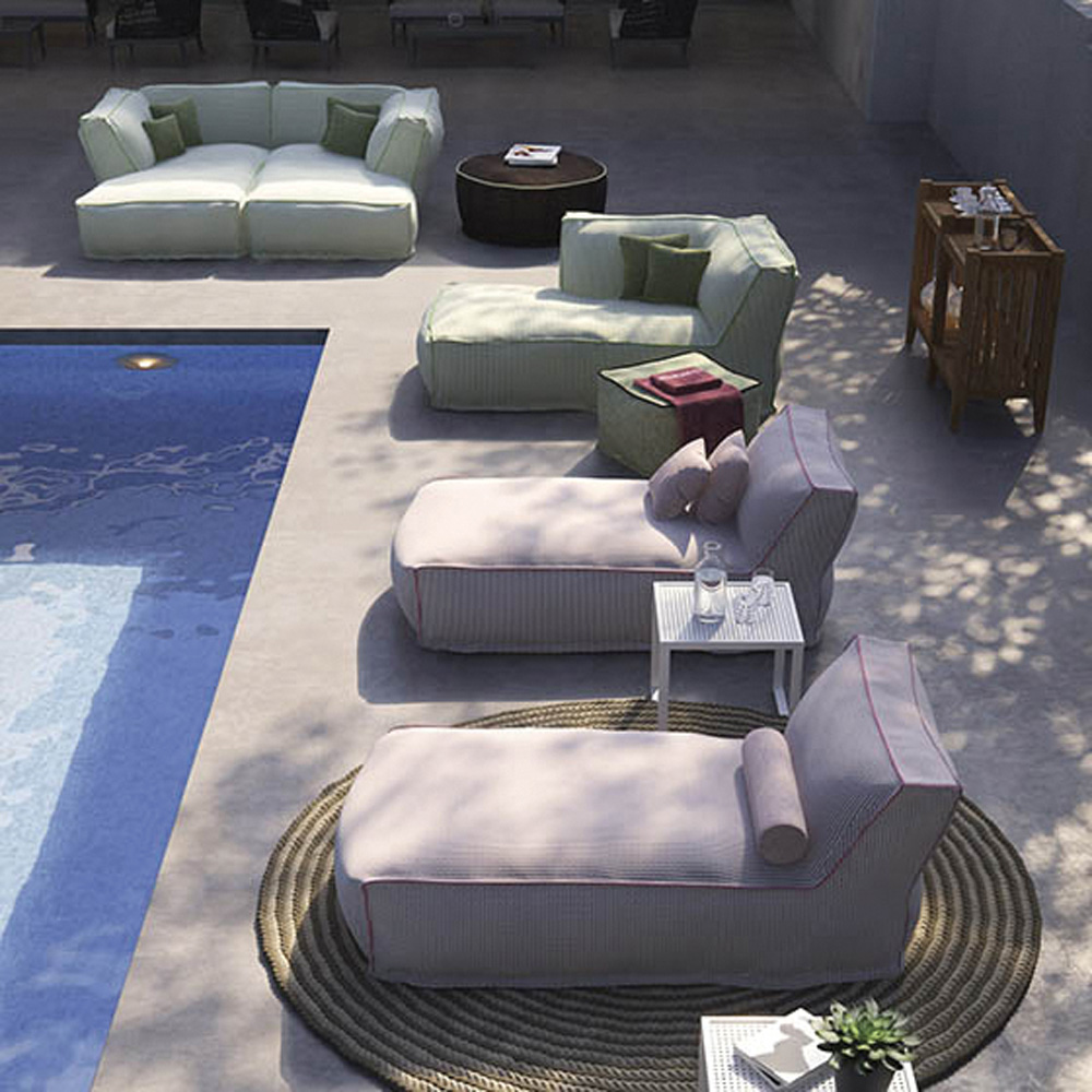 Soft Chaise Longue By Atmosphera