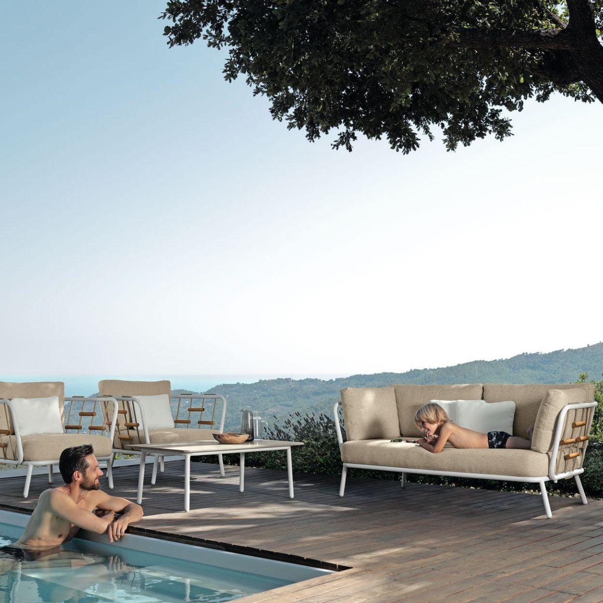 Cottage Sofa Luxury 3 Seater Outdoor Sofa