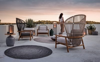 New Arrivals: Luxurious Teak Outdoor Furniture by Gloster