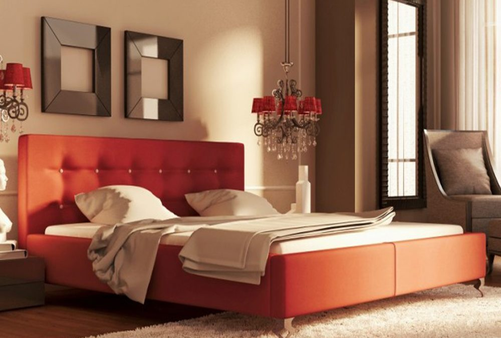 Explore Luxury Upholstered Beds by New Design at FCI London