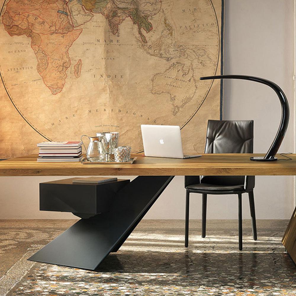 nasdaq writing desk by cattelan italia