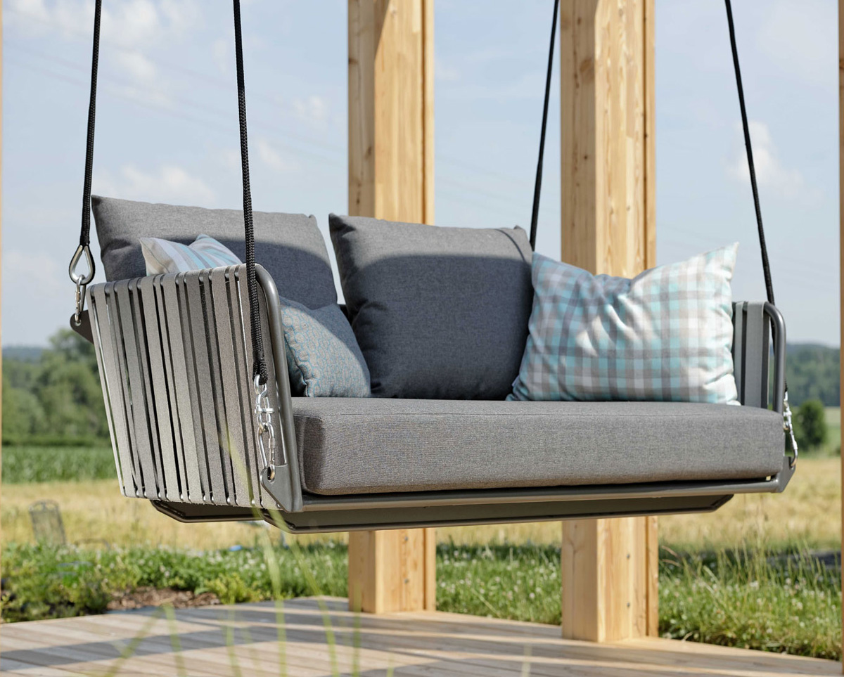 Space 2 Seater Swing Outdoor Living