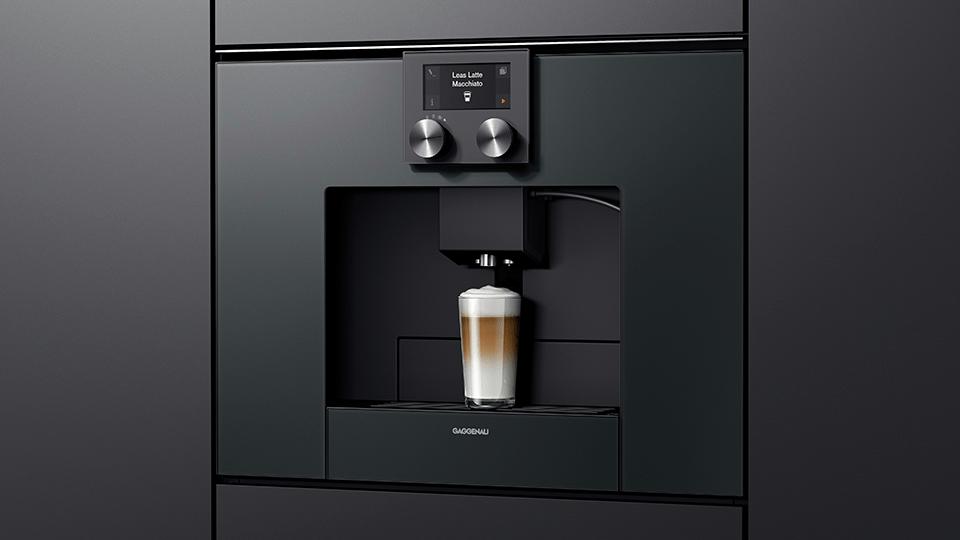How much does a Gaggenau coffee machine cost?
