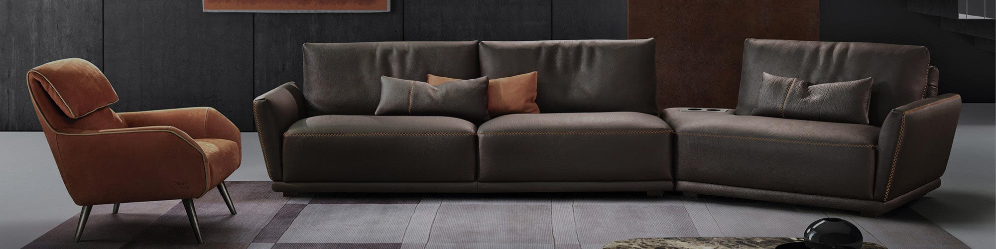 Quality Contemporary Sofas Made In Italy, Germany & Holland.