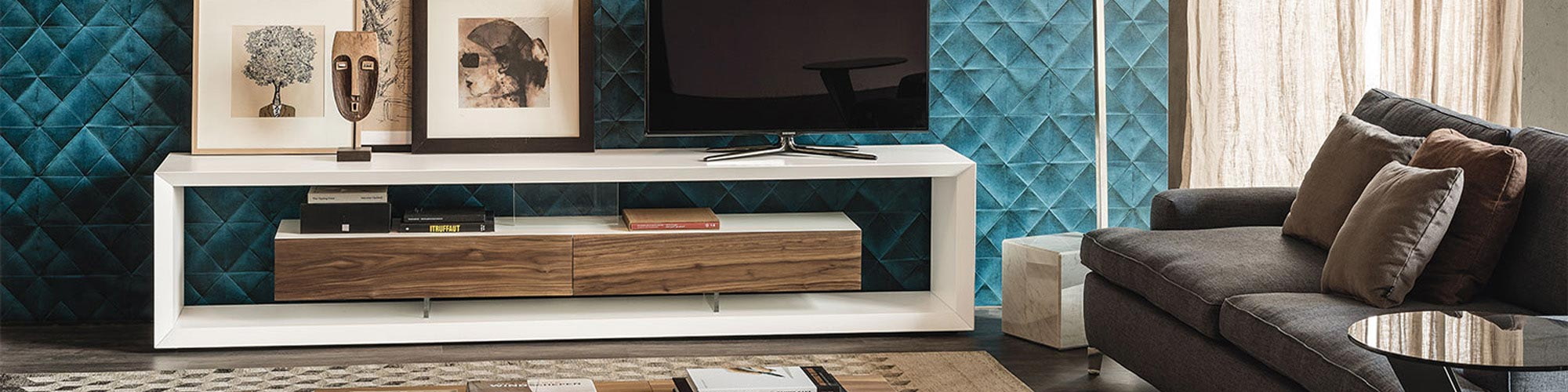 TV Wall Units by FCI London