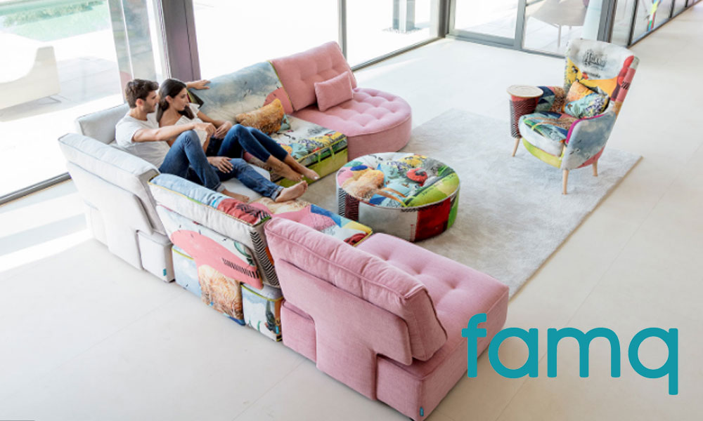 Famq Sofas by FCI London