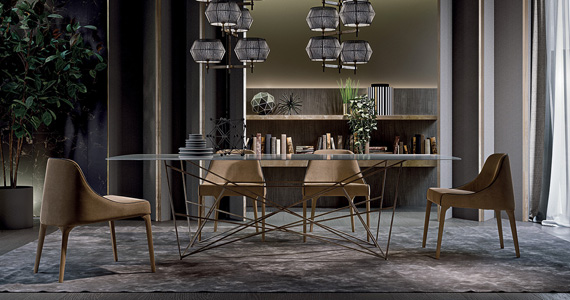 Frigerio Chairs by FCI London
