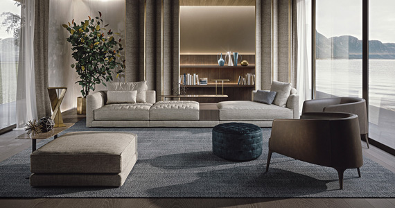 Frigerio Pouffe by FCI London