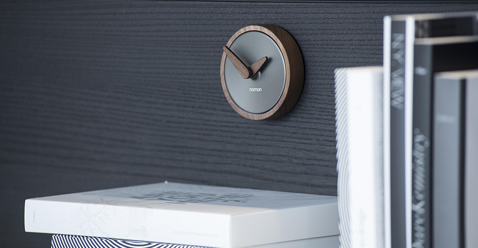 Nomon Clocks by FCI London