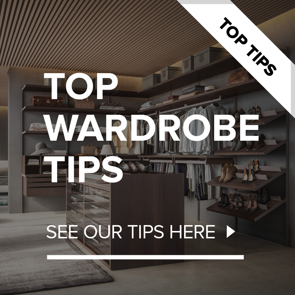 Our Top 10 Tips On Wardrobe Design.