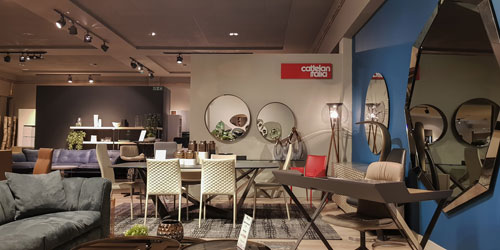 Cattelan Italia Furniture on Display by FCI London