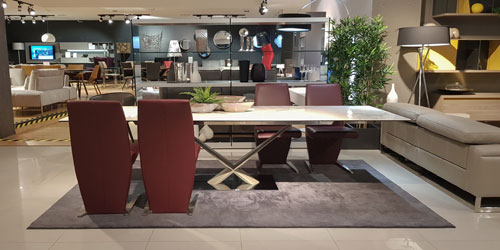 Modern Dining Tables on Display by FCI London