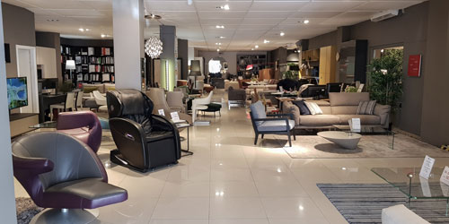 Recliners on Display by FCI London