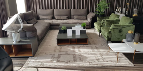 Contemporary Sofas on Display by FCI London