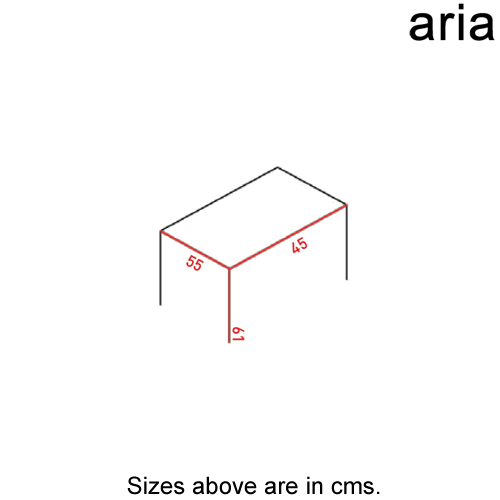 Tip Toe - M Side Table by Aria