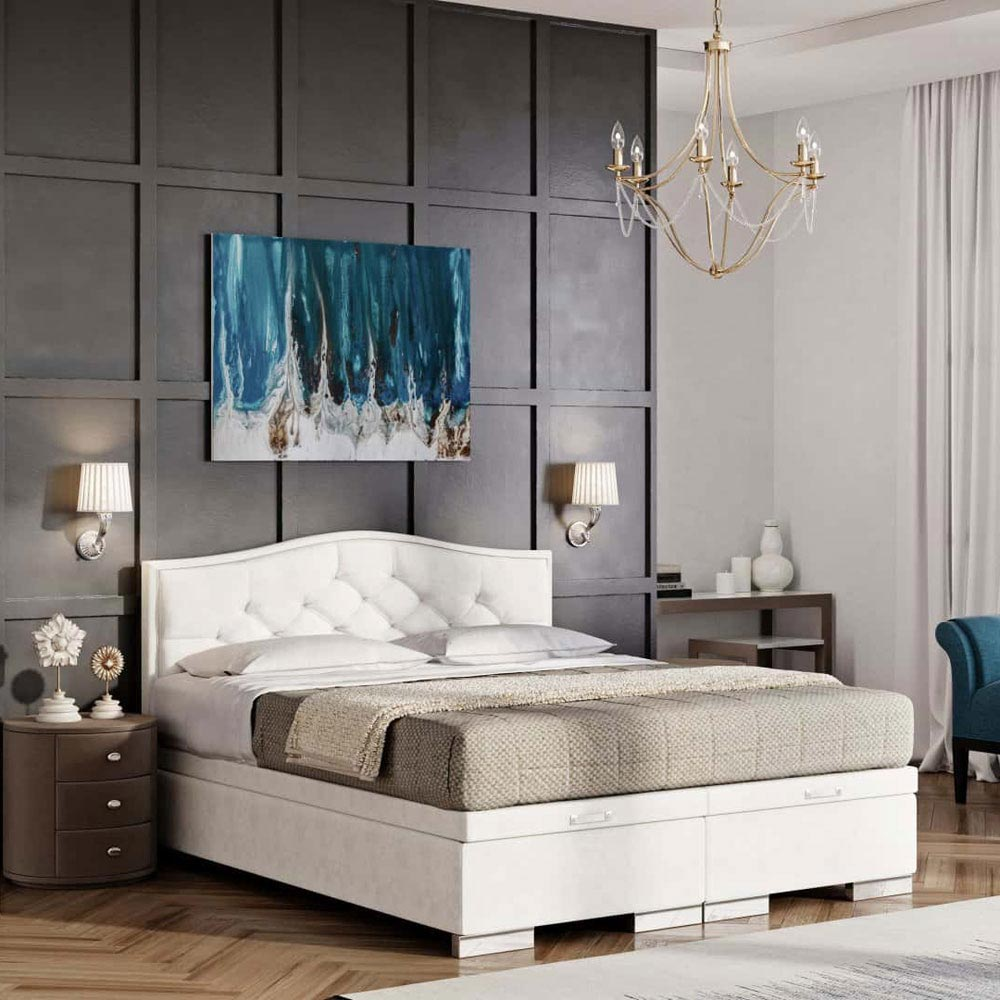 Beauty Double Bed by B and B Letti