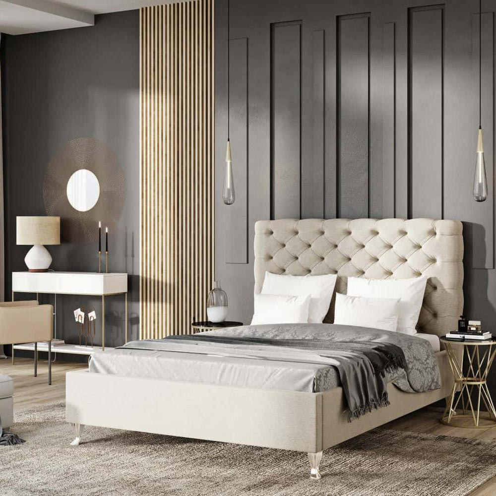 Lazio Extra Double Bed by B and B Letti