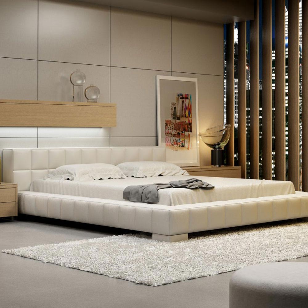 Lorenzo New Double Bed by B and B Letti