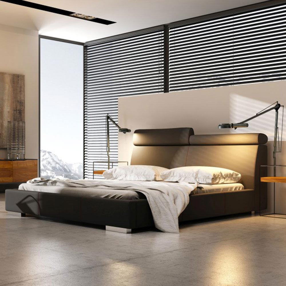 Modern Double Bed by B and B Letti
