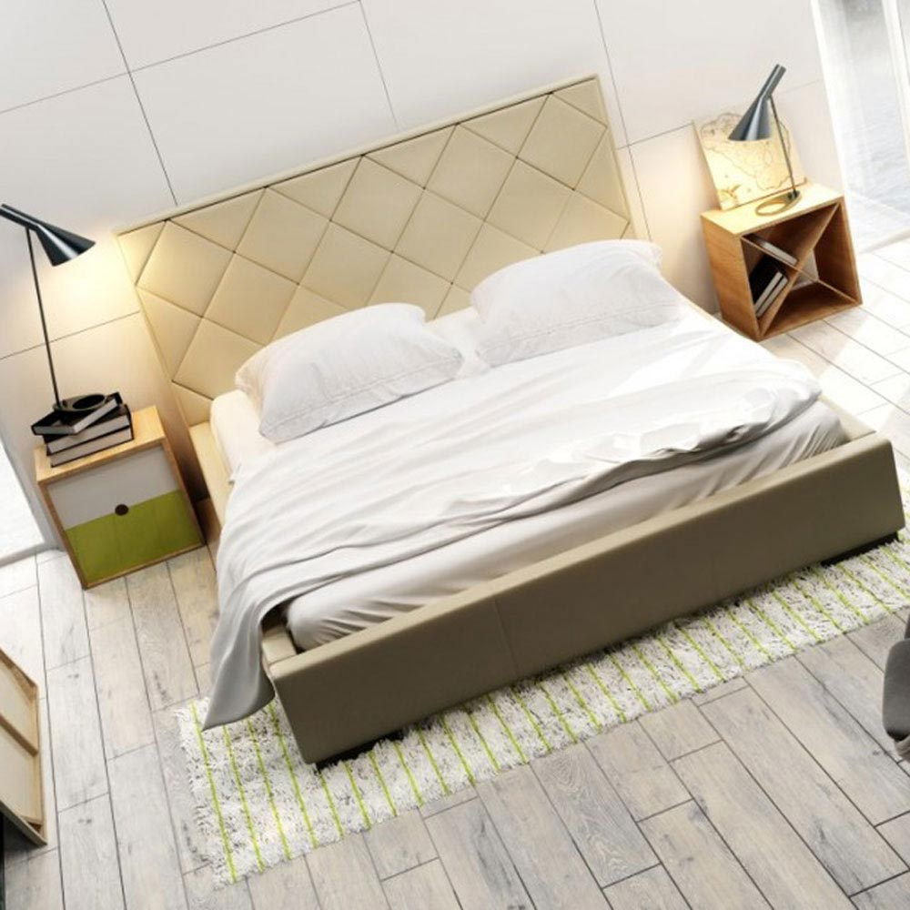 Quaddro Caro Double Bed by B and B Letti