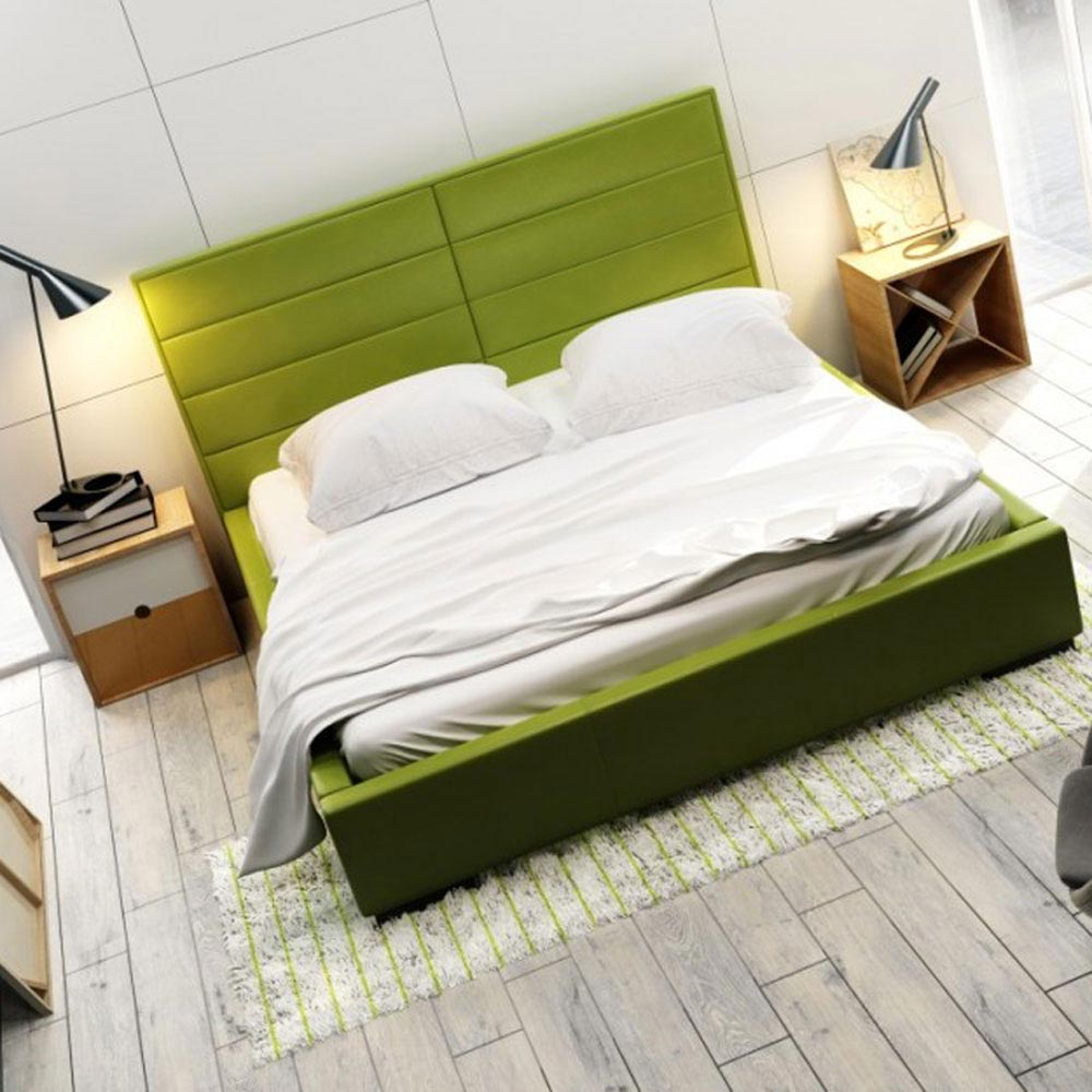 Quaddro Double Bed by B and B Letti