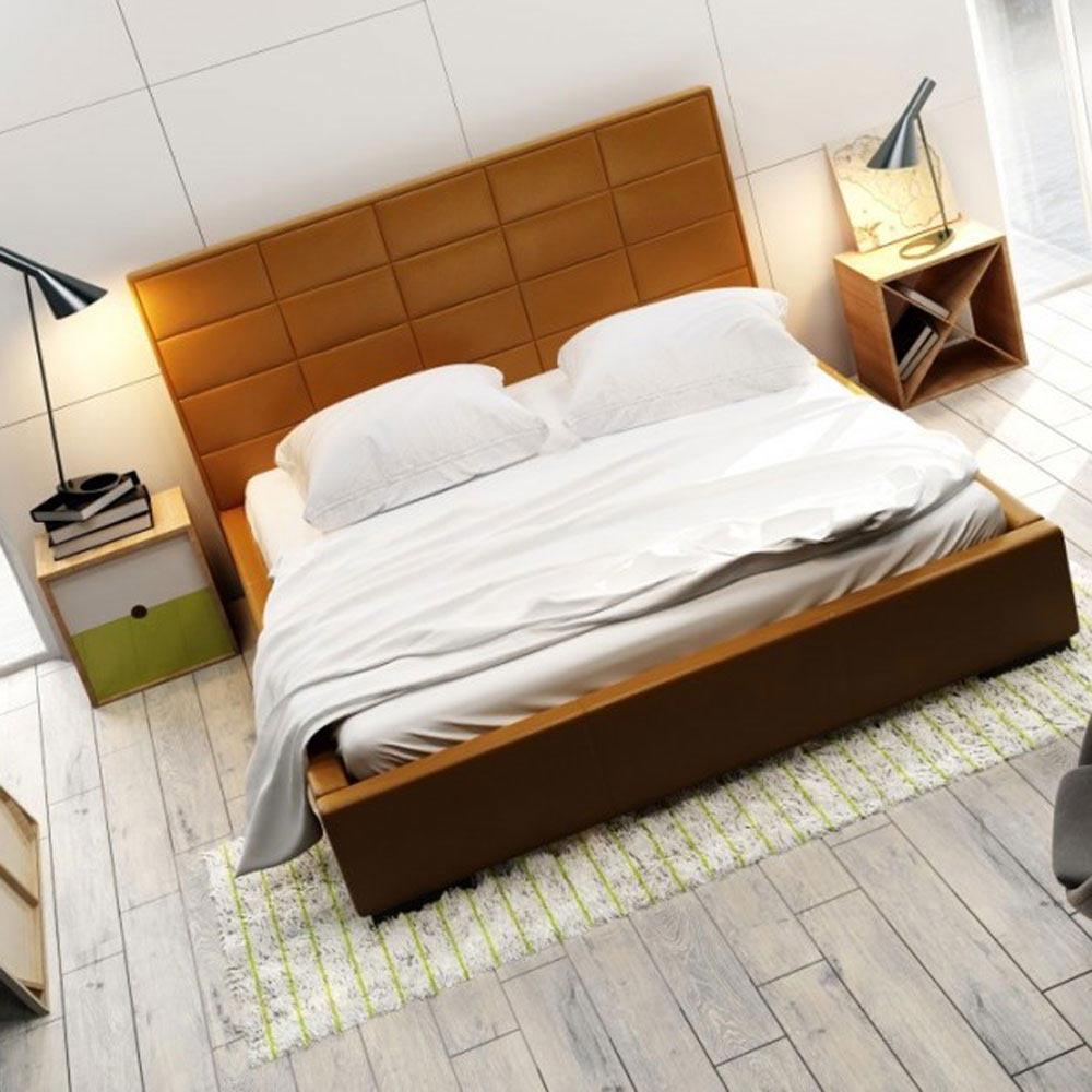 Quaddro Midi Double Bed by B and B Letti