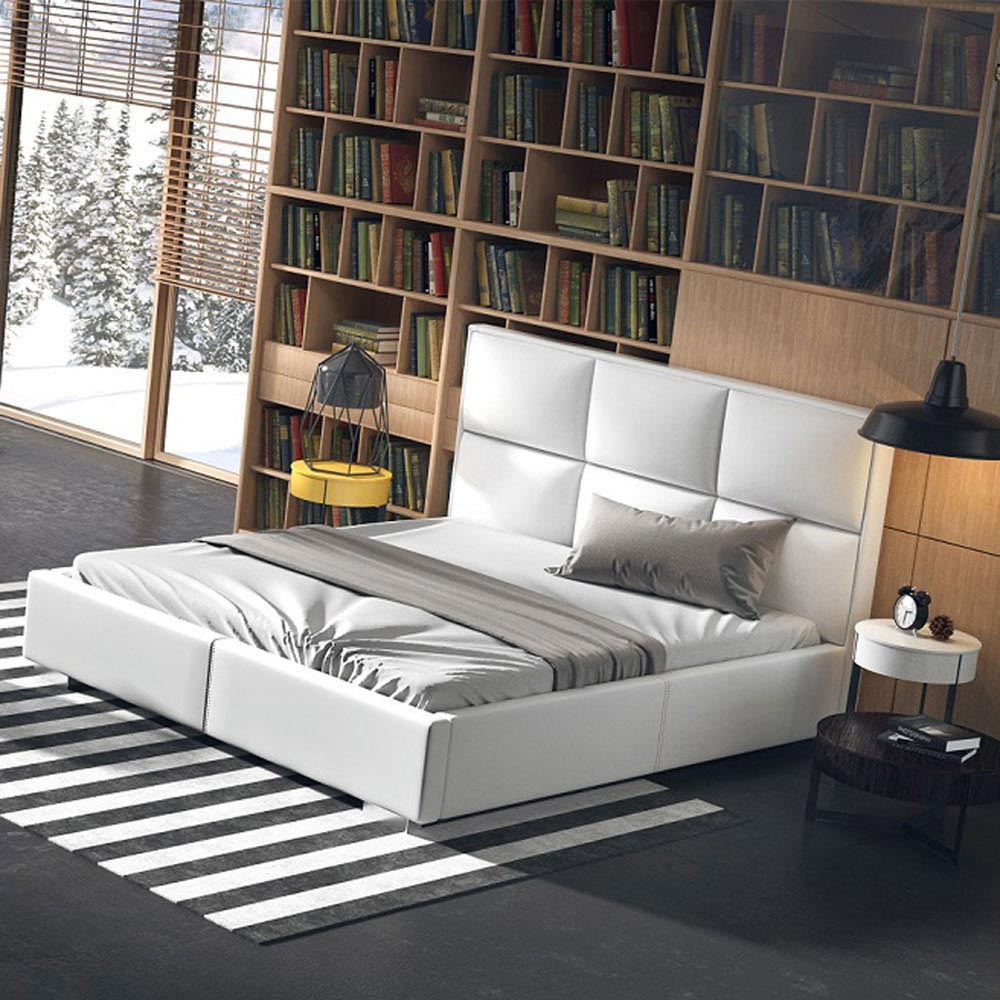 Quadro Plus Double Bed by B and B Letti