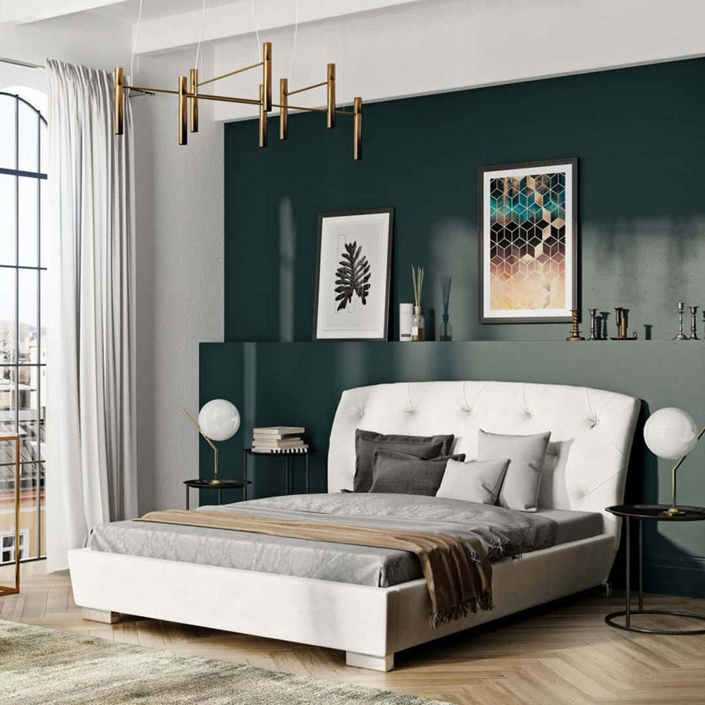 Verona Double Bed by B and B Letti