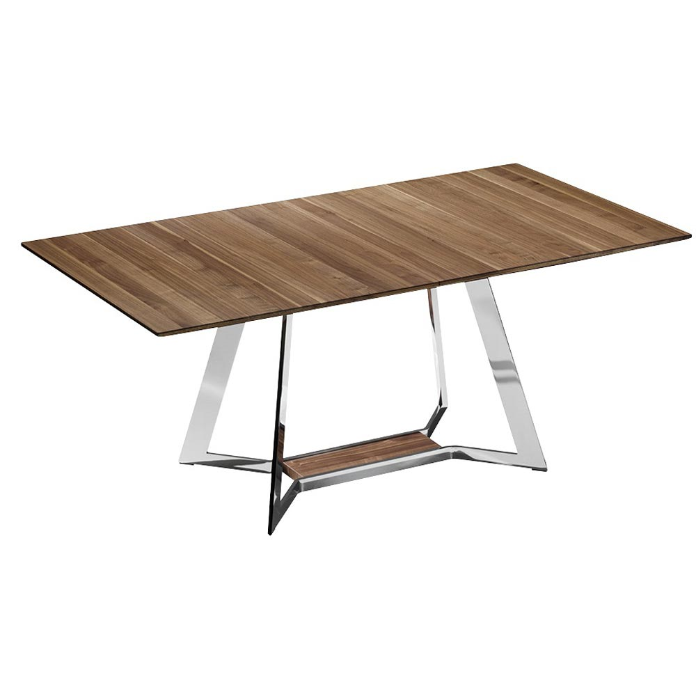 Mezzo Rectangular Dining Table by Bacher Tische