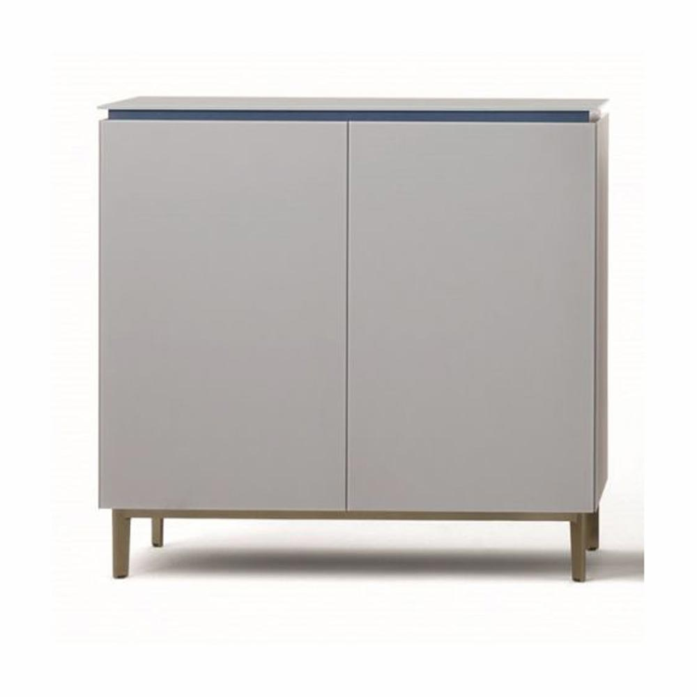 Cosmopolitan Glass Sideboard by Bontempi