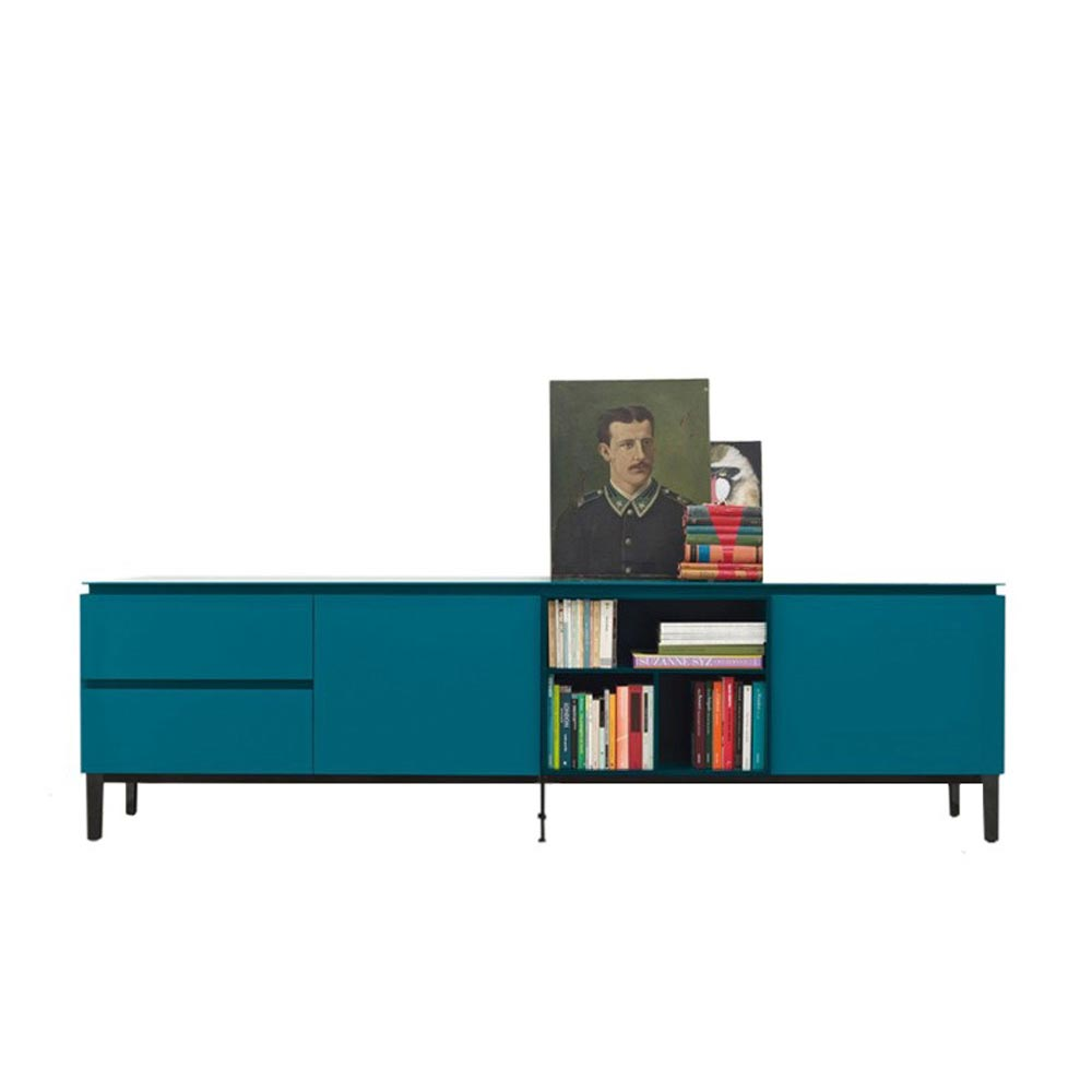 Cosmopolitan Lacquered Wood Sideboard by Bontempi