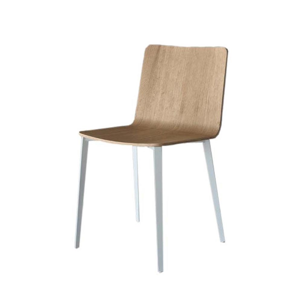 Kate Metal Frame Dining Chair by Bontempi