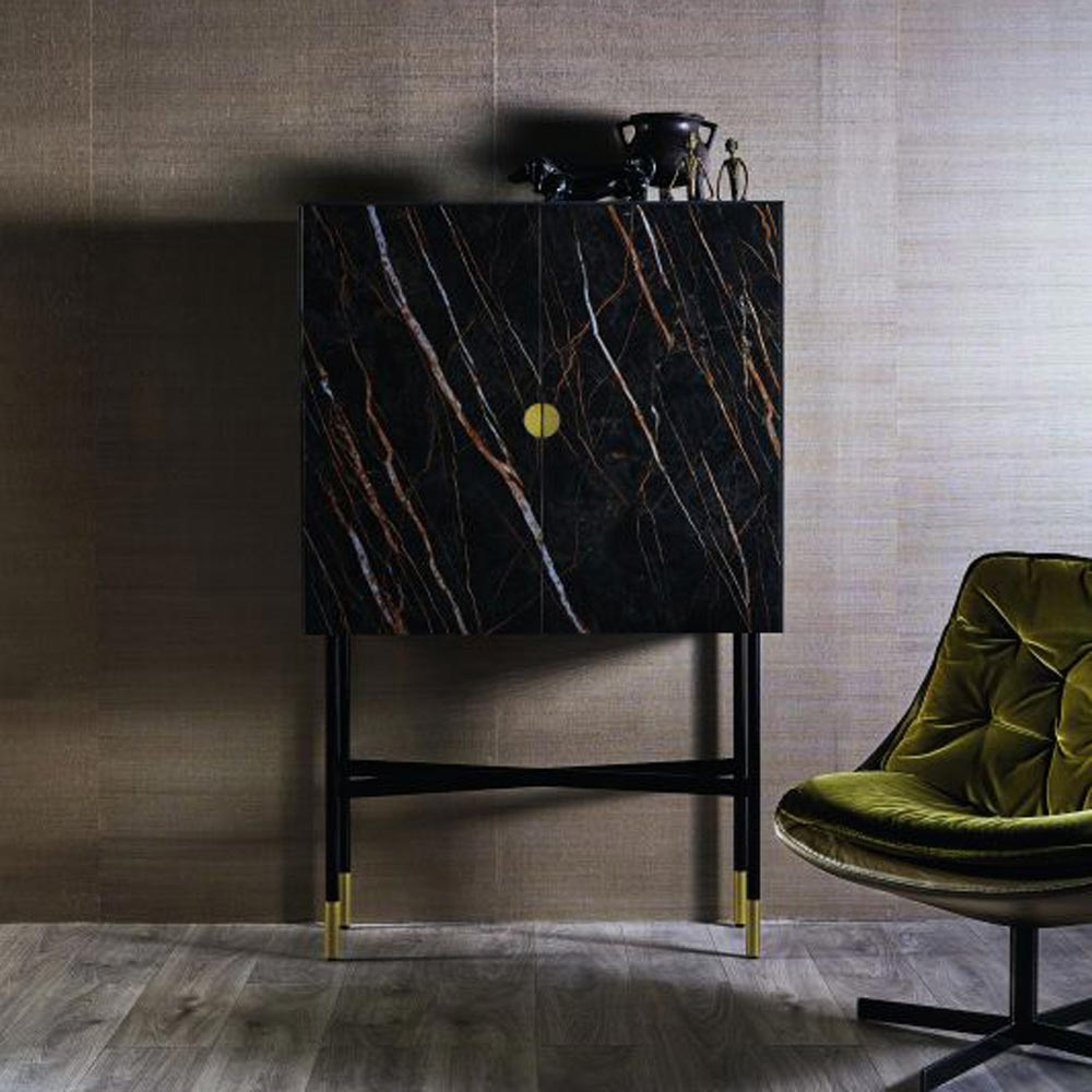 Madison Supermarmo Drinks Cabinet by Bontempi