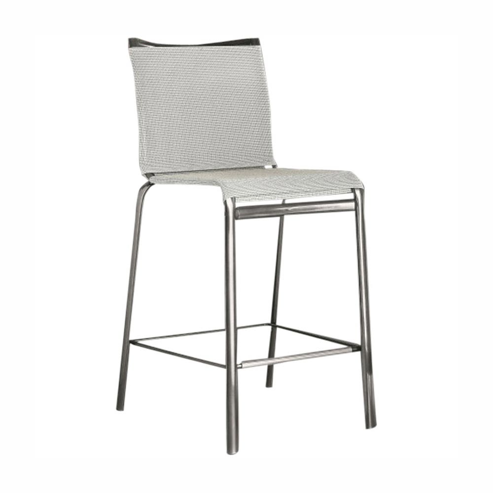 Net Bar Stool by Bontempi