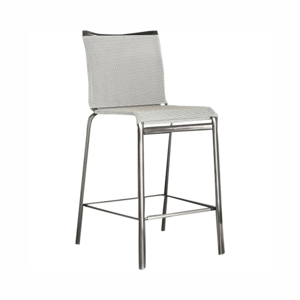 Net Outdoor Bar Stool by Bontempi
