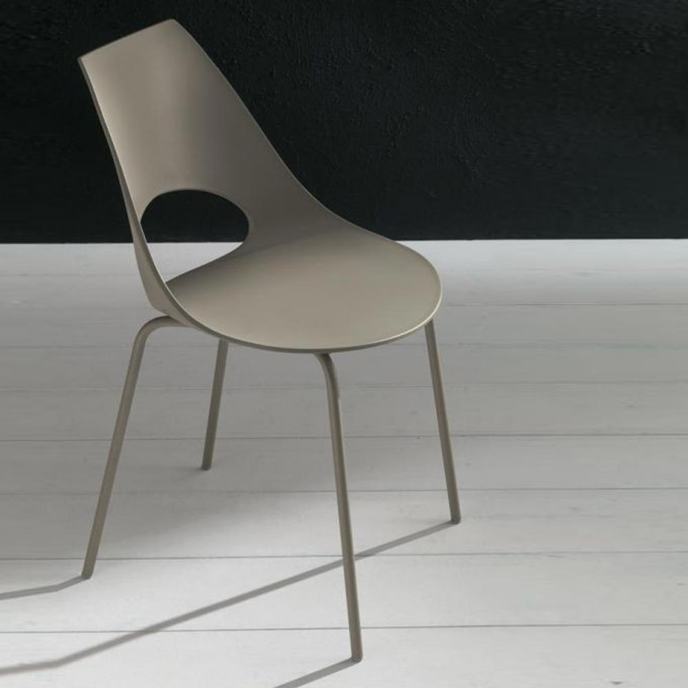 Shark Dining Chair by Bontempi